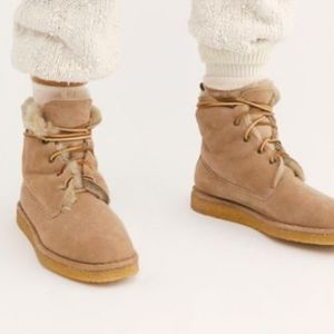 Free People x Pinto Pigro Avalanche Ankle Boots
